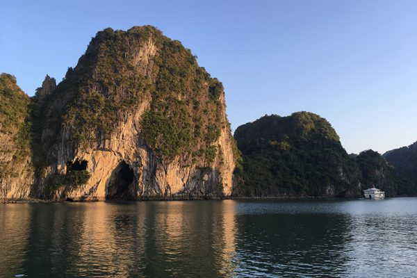 Soleil sur la Baie d'Halong
