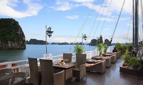 Terrasse Jonque Vietnam