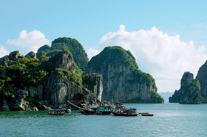Baie d'Halong Vietnam Escapade