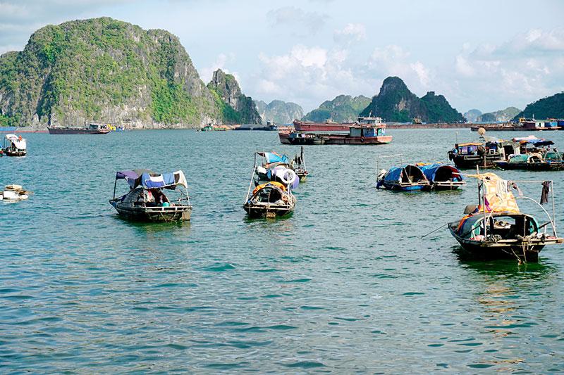 Bateaux Baie d'Halong