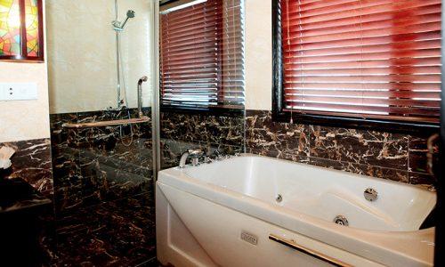 Salle de bain jonque luxe