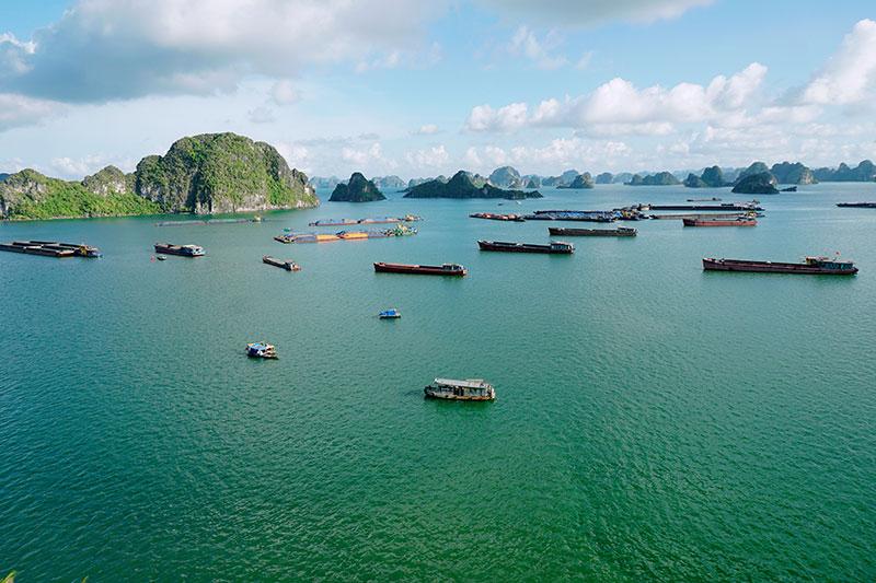 Magnifique Baie d'Halong