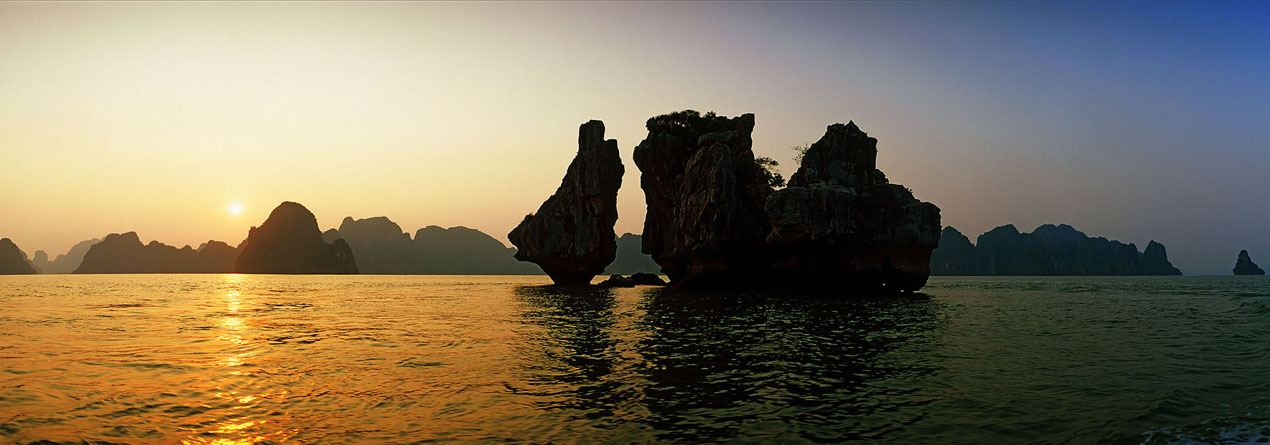 Merveilles de la baie d'Halong
